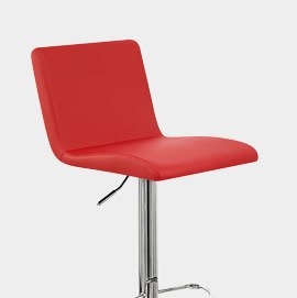 Suave Bar Stool Red