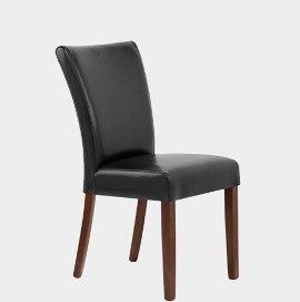 Torino Walnut Dining Chair Black