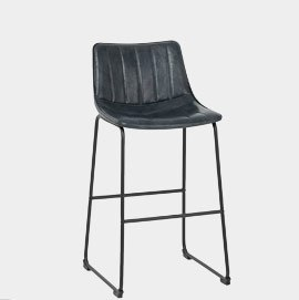 Tucker Stool Antique Slate