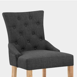 Verdi Chair Oak and Grey