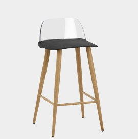 Visor Stool Black