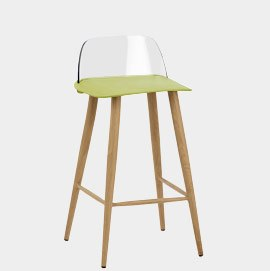 Visor Stool Green
