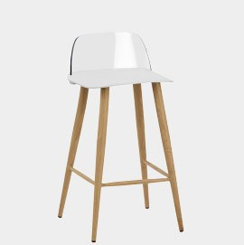 Visor Stool White