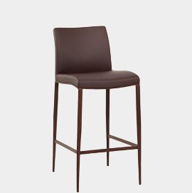Wenge Bar Stool Brown