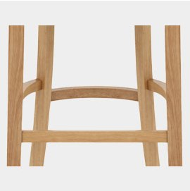 Wooden Bracing Bar Footrest