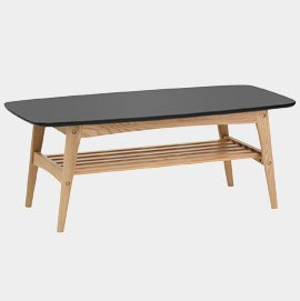 Woodstock Coffee Table Oak And Black