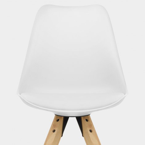 Aero Dining Chair White Seat Image