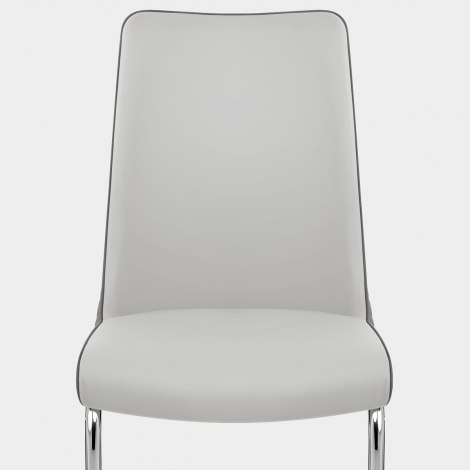 Alder Dining Chair Grey & Charcoal Seat Image