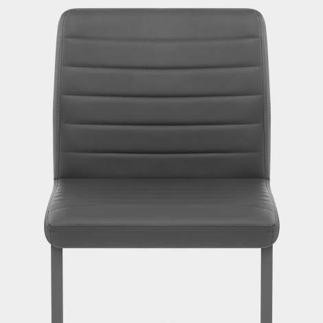 Alpha Dining Chair Grey Seat Image