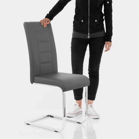 Anima Dining Chair Grey Features Image