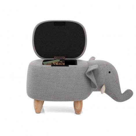 Elephant Children's Storage Stool Frame Image