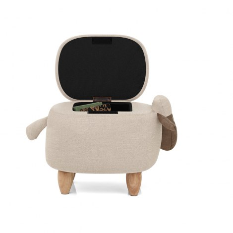 Sheep Children's Storage Stool Seat Image