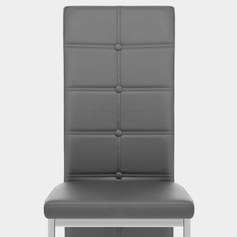 Aspen Dining Chair Grey Seat Image
