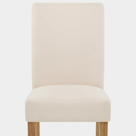 Austin Dining Chair Cream Seat Image