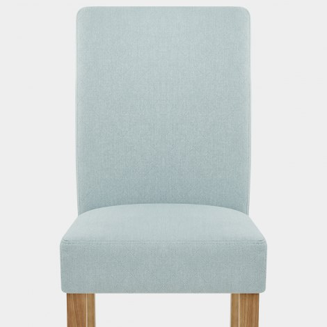 Austin Dining Chair Duck Egg Blue Seat Image