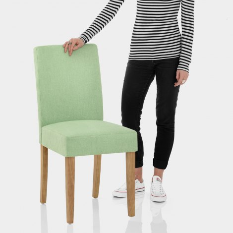 Austin Dining Chair Green Features Image