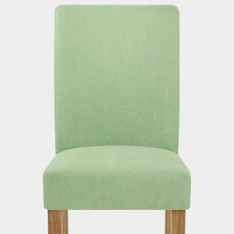 Austin Dining Chair Green Seat Image