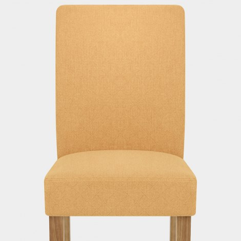 Austin Dining Chair Mustard Seat Image