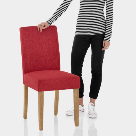 Austin Dining Chair Red Features Image