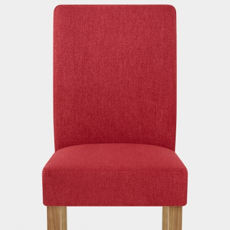 Austin Dining Chair Red Seat Image