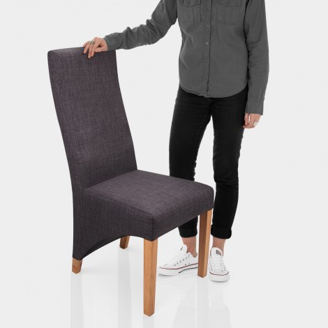 Baxter Dining Chair Grey Features Image