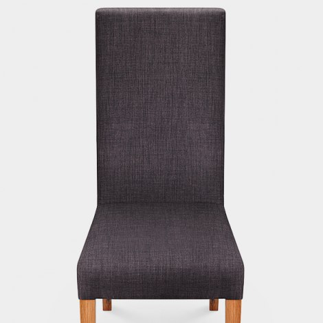 Baxter Dining Chair Grey Seat Image