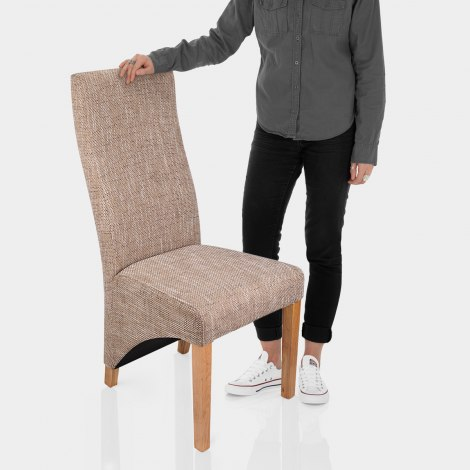 Baxter Dining Chair Tweed Features Image