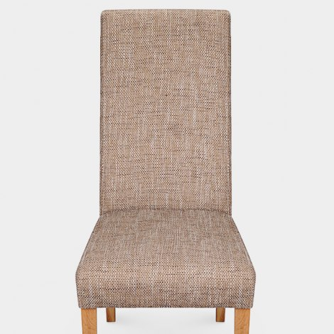 Baxter Dining Chair Tweed Seat Image