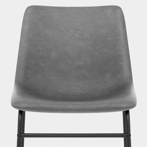 Bucket Chair Antique Grey Seat Image