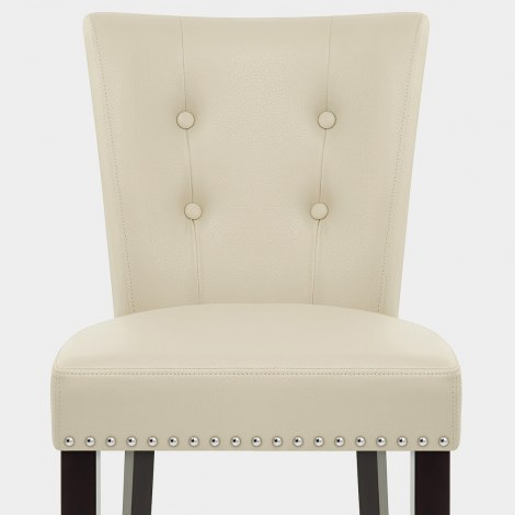 Buckingham Dining Chair Cream Leather Seat Image