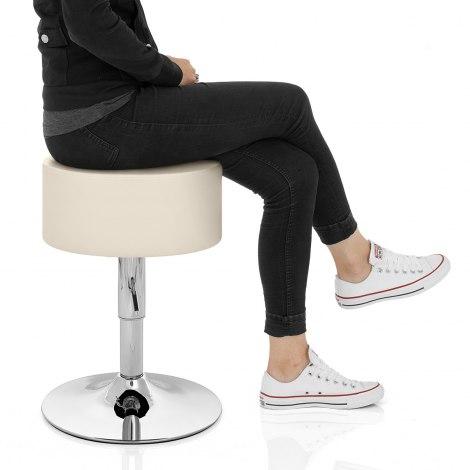 Bullet Stool Cream Seat Image