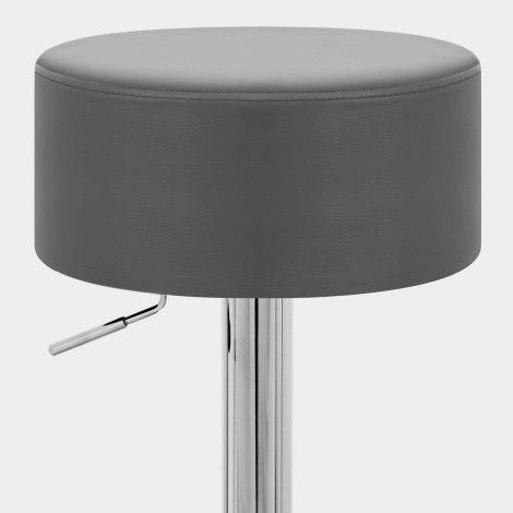 Bullet Stool Grey Seat Image
