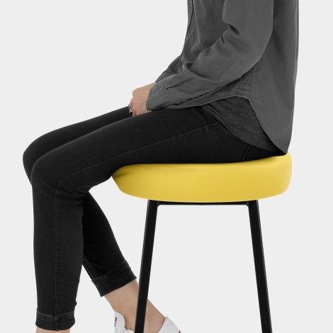 Buzz Bar Stool Yellow Seat Image
