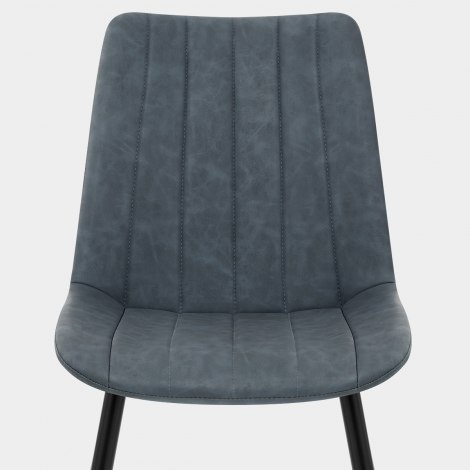 Camino Dining Chair Antique Blue Seat Image