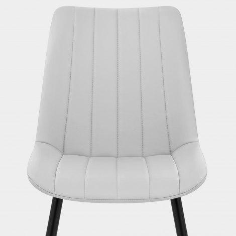 Camino Dining Chair Light Grey Seat Image