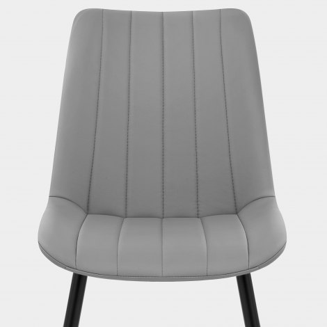 Camino Dining Chair Mid Grey Seat Image