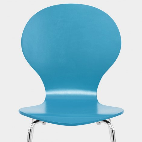 Candy Chair Blue Seat Image