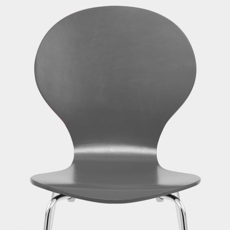 Candy Chair Grey Seat Image