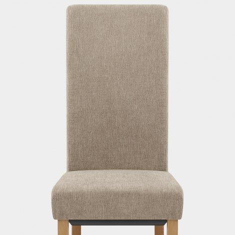 Carolina Dining Chair Mink Fabric Seat Image