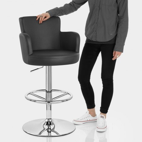 Chateau Bar Stool Black Features Image