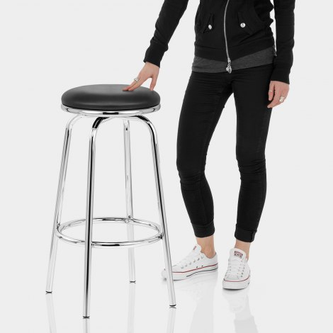 Chrome Stool Features Image