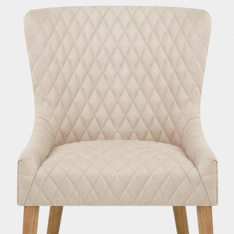 City Oak Chair Cream Seat Image