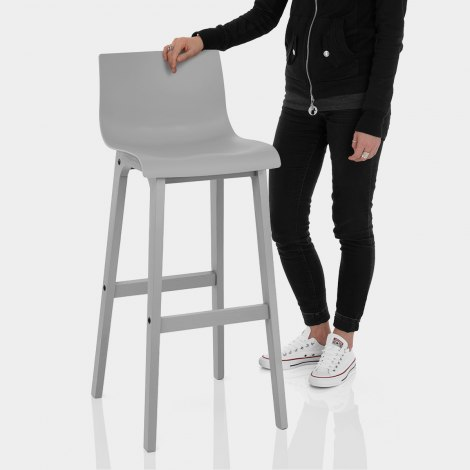 Coast Bar Stool Grey Features Image