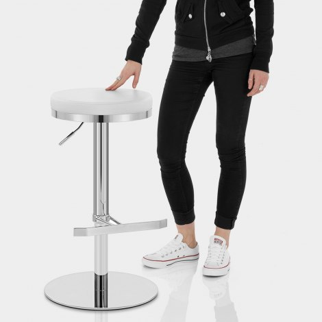 Core Bar Stool White Features Image
