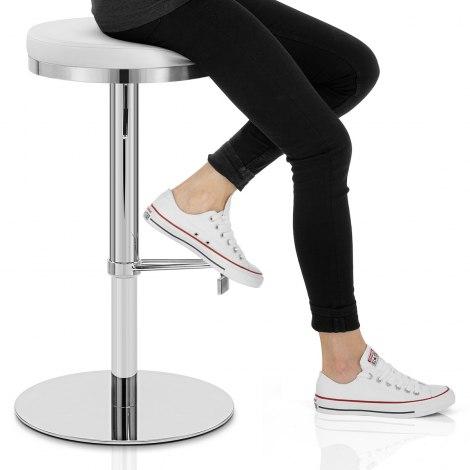 Core Bar Stool White Seat Image