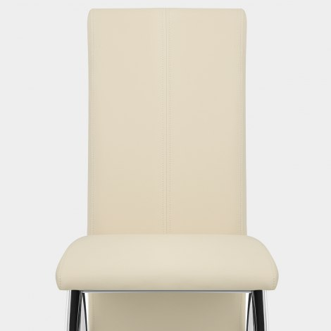 Dali Dining Chair Cream Seat Image