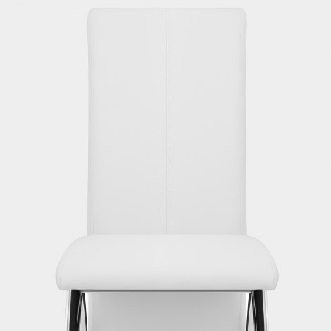 Dali Dining Chair White Seat Image