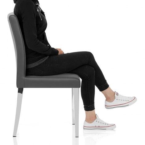 Dash Dining Chair Grey Seat Image