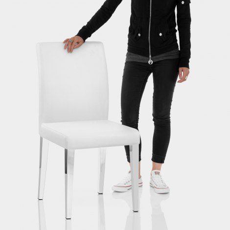 Dash Dining Chair White Features Image