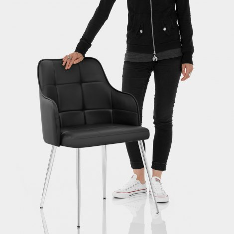 Dawn Dining Chair Black Features Image